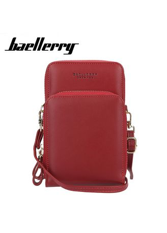 Sling Bags . Baellerry New Arrival Daily Use Card Holder Shoulder Bag for Women Big Size Wallet Ladies Crossbody Bags for Women Cellphone Bag -