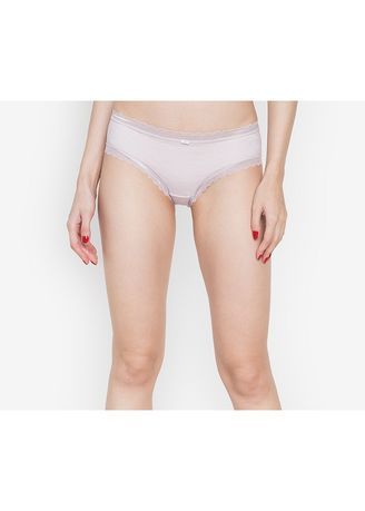 Pink color Panties . Adam & Eve Breathable Lace Panty -