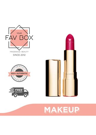 No Color color Lips . YOUR FAV BOX Clarins Joli Rouge Lipstick 713 Hot Pink 3.5g -