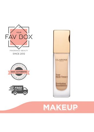 No Color color Face . YOUR FAV BOX Clarins Everlasting Foundation 105 Nude 30ml -