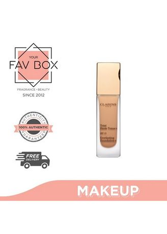 No Color color Face . YOUR FAV BOX Clarins Everlasting Foundation 112.5 -