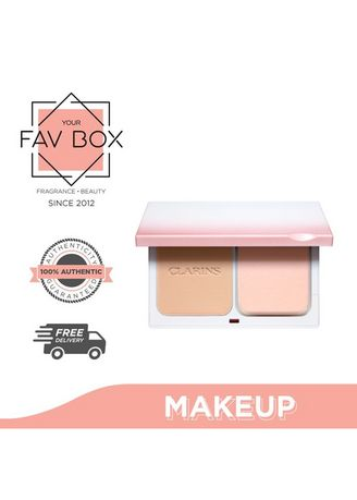 No Color color Face . YOUR FAV BOX Clarins White Plus Empty Case for Brighthening Powder Foundation -