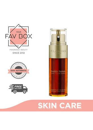 No Color color Other . YOUR FAV BOX Clarins Double Serum 50ml -
