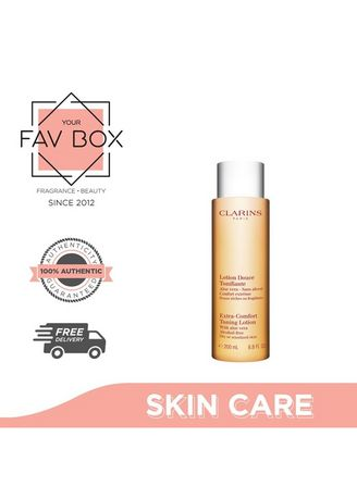 No Color color Other . YOUR FAV BOX Clarins Extra Comfort Toning Lotion Dry or SensitiveSkin 200ml -