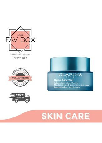 No Color color Other . YOUR FAV BOX Clarins Hydra Essentiel Rich Cream for Very Dry Skin 50ML -
