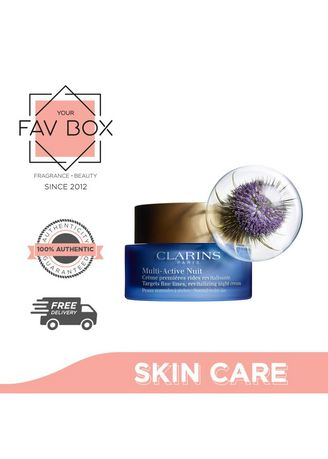 No Color color Other . YOUR FAV BOX Clarins Multi Active Night Revitalizing Normal To Dry Skin 50ml -