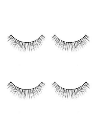 Black color Eyes . MIZZU The Iconic Eyelash Farrah 2pcs -