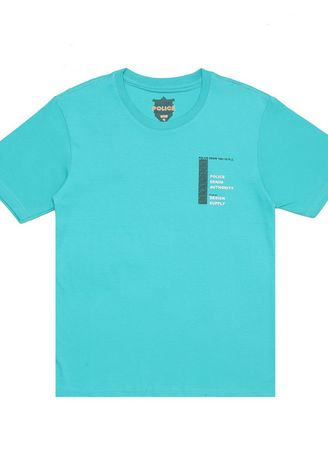 Tosca Muda color  . POLICE Kids T-Shirt Cotton Combed -