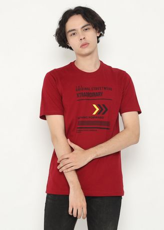 T-Shirts and Polos . XTRAORDINARY T-Shirt Cotton Combed Pria -