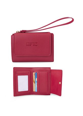 Maroon color Wallets and Clutches . Wyssandra Women's Wallet -