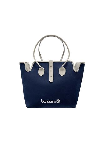 Navy color Hand Bags . Bossini Canvas Lady Bag 822300300 Navy -