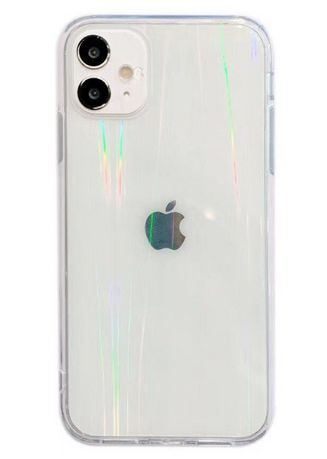 White color Cases & Covers . iPhone 12 Pro Translucent Case -