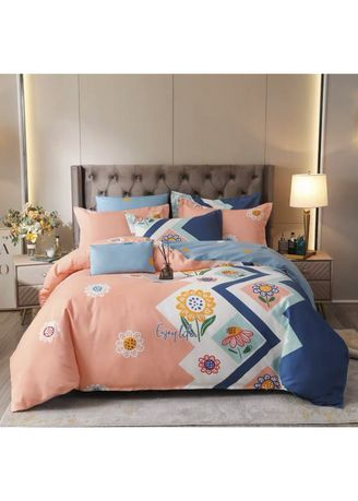 Multi color Bedroom . Enjoy Life Bed Sheet and Pillow Case Set -