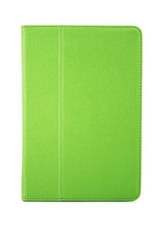 Green color Cases & Covers . Magnetic Closure iPad Case -