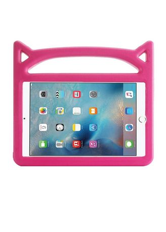 Pink color Cases & Covers . Silicagel iPad Case -