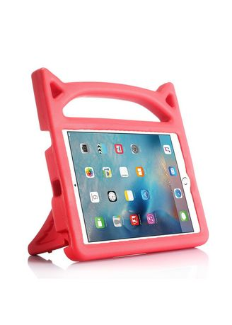 Red color Cases & Covers . Silicagel iPad Case -