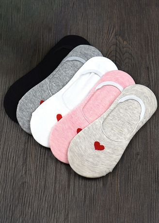 Love Style color Socks . Ladies Candy Color Cartoon Silicone Non-slip Socks QWZ043 -