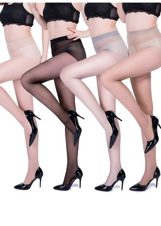 Multi color Socks . Anti-snagging Free Cut Women's Bottoming Stockings QWZ048 -