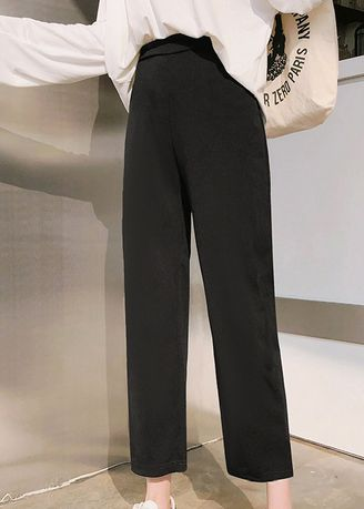 Black color Trousers . Everyday Formal Pants -