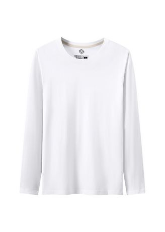 White color T-Shirts and Polos . Men's Solid Casual T-shirts -
