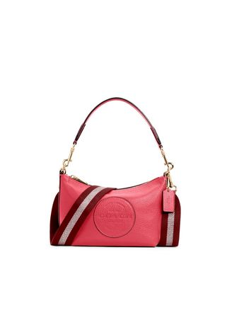 IM/FUCHSIA color กระเป๋าสะพาย . กระเป๋าสะพายข้าง COACH C2829 DEMPSEY SHOULDER BAG WITH PATCH (IMFUS) [C2829IMFUS-RA] -