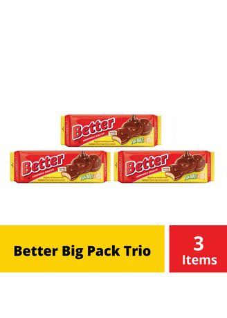 Brown color Chocolates & Candies . Better Big Pack Trio -