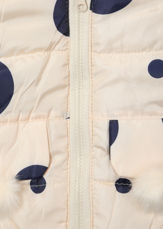 Multi color Jackets . The Sandbox Clothing Co. peach dotted jacket -