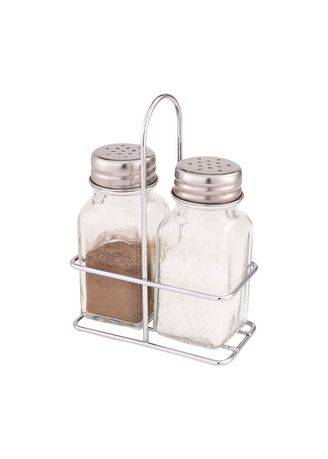 Kitchen . Pieces 2pc. Spice Jar with Metal Handle -
