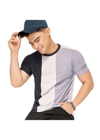 Multi color T-Shirts and Polos . Sprint Men's Roundneck Cut and Sew Tee -