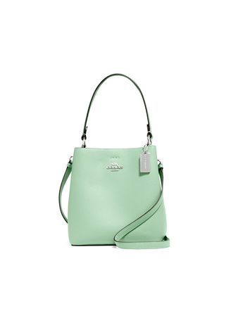 SV/WASHED GREEN/AMAZON GREEN color กระเป๋าสะพาย . COACH 1011 SMALL TOWN BUCKET BAG (SVSJY) [1011SVSJY-MA] -
