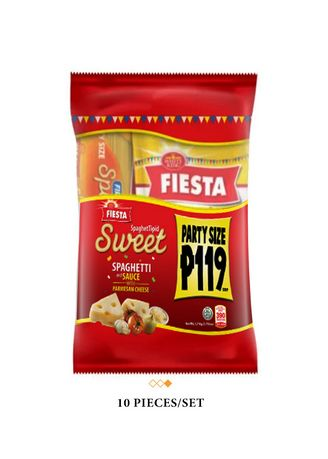 . Fiesta Sweet SpaghetTipid Pack (10 Pieces/Set) - Set of 10 - Pieces per Set
