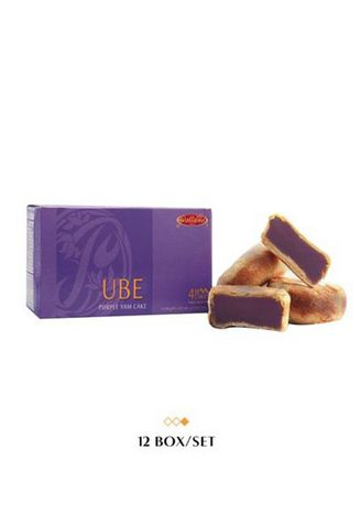 No Color color  . Polland Hopia Ube - Festive Sweets Gifts Savoury Snacks, (Box of 12) 48 Pieces of Hopia  -