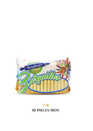 No Color color Snacks . BongBong's Barquillos (Wafer), 100g Bundled by 10 -