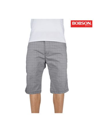 Charcoal color Shorts & 3/4ths . Bobson Men's Basic Non-Denim Tapered Shorts 80320 (Charcoal) -