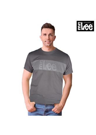 Gray color T-Shirts and Polos . Stylistic Mr. Lee Men's Basic Tees Semi Body Fit 16880-U (Gray) -